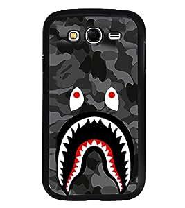 Fuson Premium 2D Back Case Cover Devil With Multi Background Degined For Samsung Galaxy Grand Neo Plus::Samsung Galaxy Grand Neo Plus i9060i