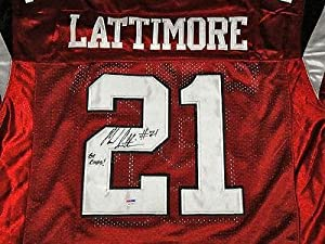 Marcus Lattimore Signed Jersey - PSA DNA Certified - Autographed College Jerseys by Sports+Memorabilia