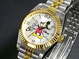 ディズニー ミッキー 腕時計 80周年 天然ダイヤ レディース DISNEY-4