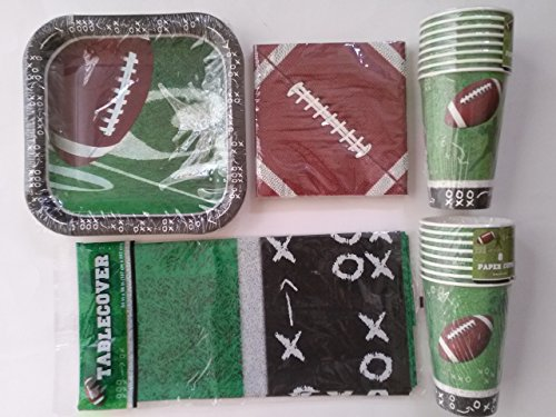 tailgating-football-party-supplies-paper-plates-napkins-cups-table-cover-super-bowl-birthday