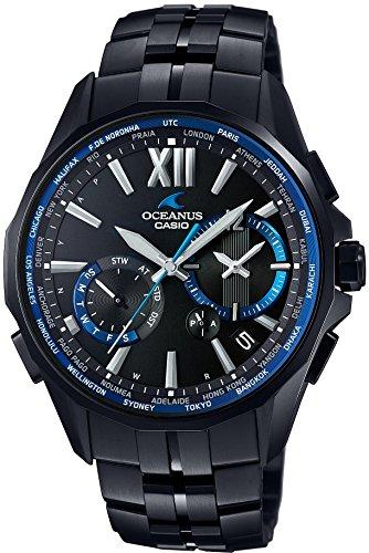 [カシオ]CASIO 腕時計 OCEANUS Manta 世界6局対応電波ソーラー OCW-S3400B-1AJF メンズ