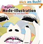 Digitale Mode-Illustration mit Photos...