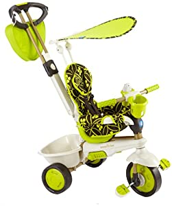 Amazon Com Smart Trike Dream 4 In 1 Tricycle Green