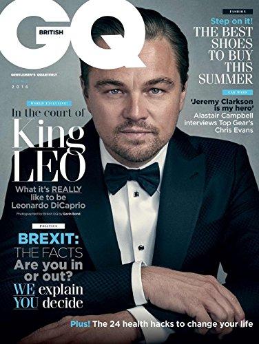 BRITISH GQ MAGAZINE UK JUNE 2016 LEONARDO DICAPRIO, BEST SHOE TO BUY THIS SUMMER, CHRIS EVANS (British Gq compare prices)