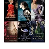 Lauren Willig collection 6 Books set. (The secret history of the pink carnation, the masque of the black tulip, the mischief of the mistletoe, the deception of the emerald ring, the Temptation of the Night Jasmine, the Seduction of the Crimson Rose, The