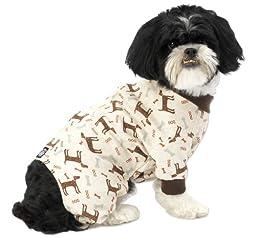 PetRageous Cuddle Up Pajamas for Pets, Medium