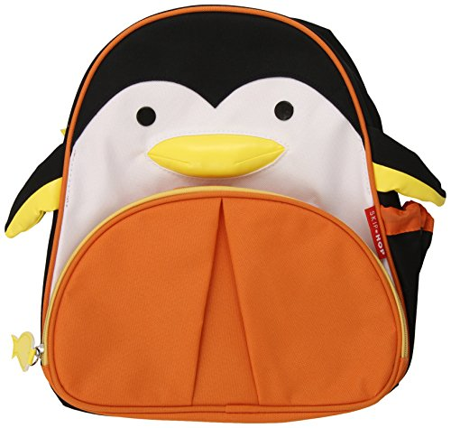 Skip Hop Zoo Pack Little Kid Backpack, Penguin