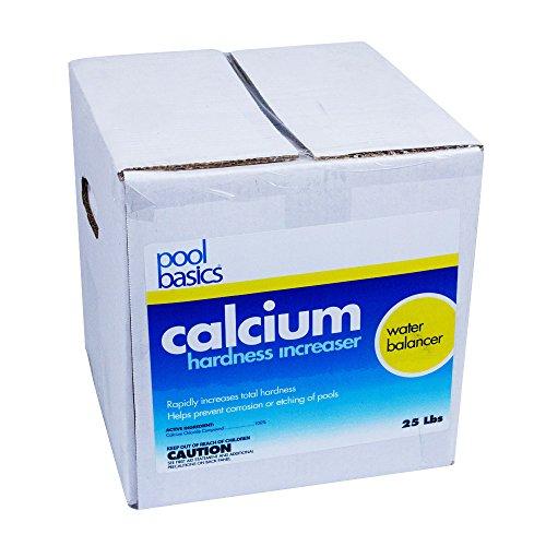 Pool Basics 2825Pb Calcium Hardness Increaser For Pools, 25-Pound