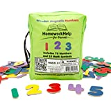 Classic Collection Of Wooden, Magnetic Numbers & Math Symbols 75 Numbers & 25 Math Symbols Great For Preschool...