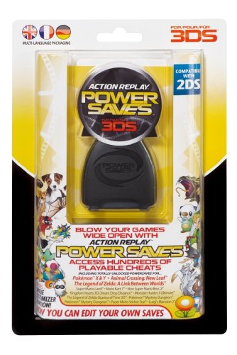 Action Replay Powersaves Cheat Device for 3ds Games (Pokemon Omega Ruby Cheats compare prices)