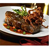Bonewerks Culinarte Demi Glace Braised Boneless Beef Short Ribs -- 20 per case.