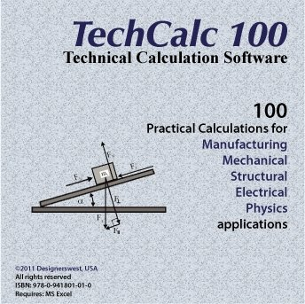 TechCalc 100 Engineering/Scientific Calculation Software