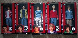1d One Direction 12 Doll Figure Set Of 5 Niall Liam Louis Zayn Harry from Hasbro