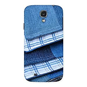 Special Denim Blanket Print Back Case Cover for Samsung Galaxy S4
