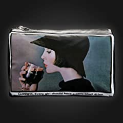 Guinness Drinking Lady Wash Bag