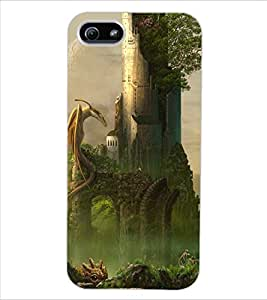 ColourCraft Dragon Design Back Case Cover for APPLE IPHONE 5