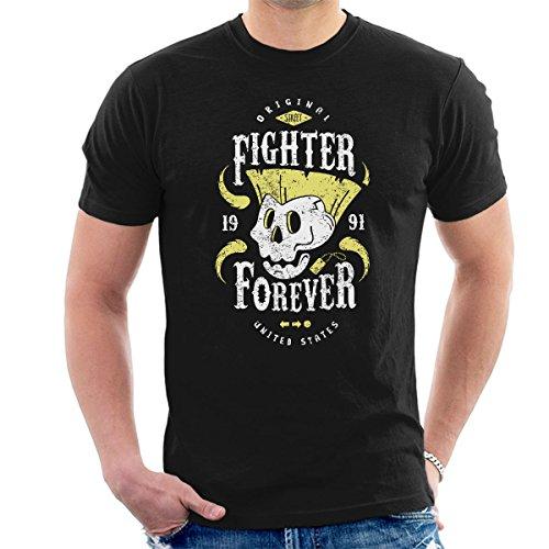 Fighter Forever Guile Street Fighter Men's T-Shirt