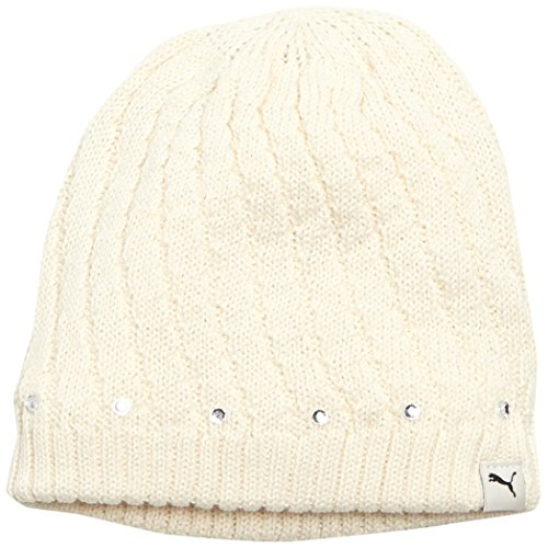 PUMA berretto da ragazza toomly Beanie, zabaione White, bande, 834020 62