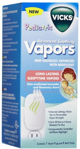 Vicks Advanced Soothing Vapors Waterless Vaporizer Baby - 1