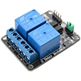 SunFounder 2 Channel 5V Relay Shield Module for Arduino UNO 2560 1280 ARM PIC AVR STM32 Raspberry Pi
