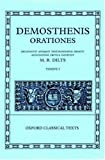 Demosthenis Orationes: Tomus I (Oxford Classical Texts) (Vol 1) (0198721684) by Demosthenes