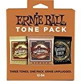 Ernie Ball 3313 Acoustic Guitar String Tone Pack, Medium-Light