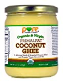 PRIMALFAT Coconut Ghee 14.2 oz, Virgin & Certified Organic - Pure Indian Foods(R) Brand [Hot Sale]