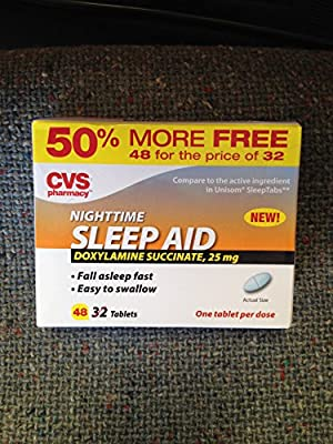 Nighttime Sleep Aid 48 Tablets