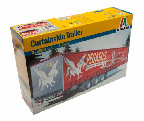 Curtainside Trailer 1/24 Italeri