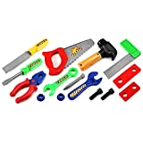 DIY Work Childrens Kids Pretend Play Toy Work Shop Tool Set W/ Tools, Accessories, Perfect For Your Little Builder