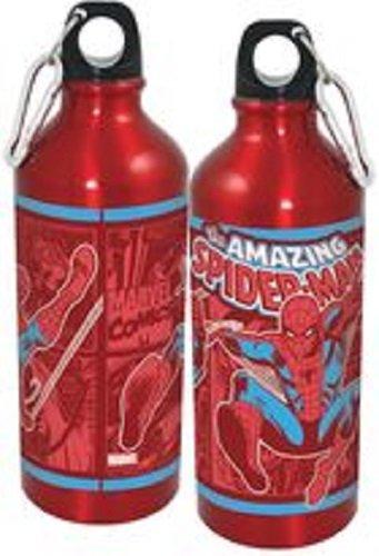 ICUP Spider-Man Aluminium Water Bottle, 20-Ounce