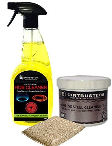 dirtbusters-kit-di-pulizia-professionale-acciaio-inossidabile-piano-cottura-750-ml-detergente-per-pi