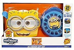 Viewmaster With 3 Despicable Me Reels & A Despicable Me Reel Storage Case