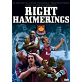Right Hammerings - West Ham United [DVD]by John Gubba