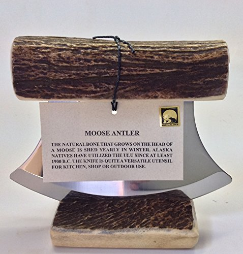 Alaska Natural Moose Antler Ulu Knife Stand