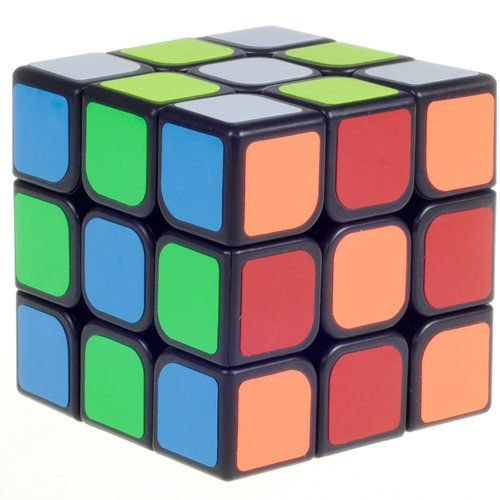D-FantiX YJ GuanLong Speed Cube 3x3 Smooth Magic Cube Puzzles 56 mm Black #100% Money Back Guarantee!#