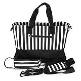 RONGTONGDA マザーズバッグ 2way ママバッグ 大容量 ハンドバッグ ショルダーバッグ シンプル 軽量 ベビー用品収納バッグ