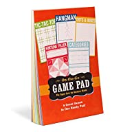 Knock Knock Game Pad, 60 Sheets