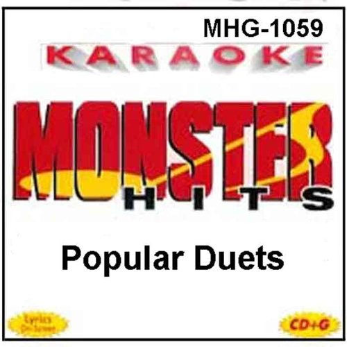 Monster Hits Karaoke #1059 - Popular Duets by STEVIE NICKS/TOM PETTY, BILLY PRESTON/SYREETA, STEVIE NICKS/DON HENLEY, DIONNE WARWICK & SPINNERS and ELTON JOHN/RUPAUL