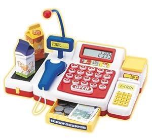 Simba 4525700 - Supermarktkasse mit Scanner