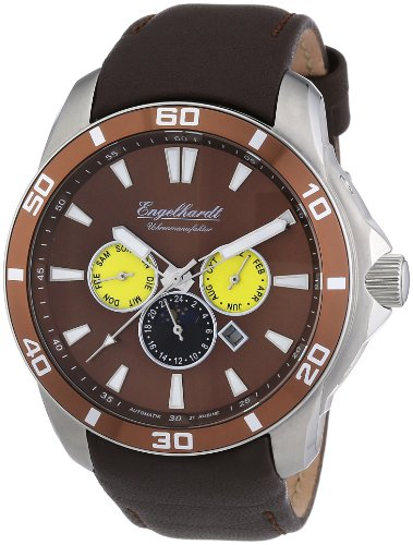 Engelhardt Men's Automatic Watch 387727029017 with Leather Strap