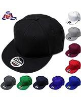 OTTO CAP/Wool Blend Flat Visor Pro Style Solid Snapback Caps(オットーキャップ/ウールブレンドフラットバイザープロスタイルソリッドスナップバックキャップ)