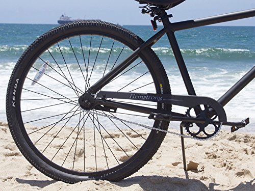 Firmstrong Black Rock Men's Single Speed Beach Cruiser Bicycle, 29-Inch, Matte Black 1