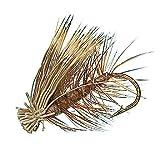 Wetfly Elk Hair Caddis Fly - Brown, 1 Dozen Fly Fishing Flies