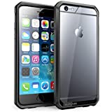 iPhone 6 Case, SUPCASE Apple iPhone 6 Case 4.7 inch [Unicorn Beetle Series] Premium Hybrid Protective Bumper Case Cover for iPhone 6 (Clear/Black/Black)