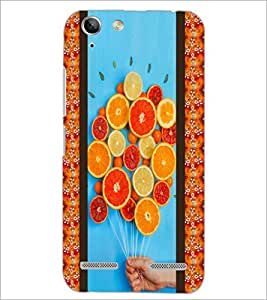 PrintDhaba Leamons D-3758 Back Case Cover for LENOVO VIBE K5 (Multi-Coloured)