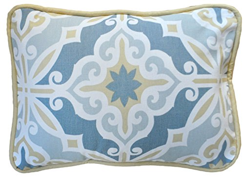 New Arrivals Accent Pillow, Starburst in Gold, 2 Count