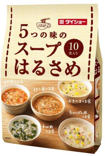 5つの味のスープはるさめ 10食入り(164.6g)×10袋