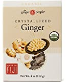 Ginger People Organic Crystallized Ginger Box -- 4 oz Each