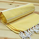 Traditional Turkish Large Quick Dry Luxury Bath Hamam Spa Sauna Beach Gym Yoga Baby Bath Towel Pestemal 100% Cotton